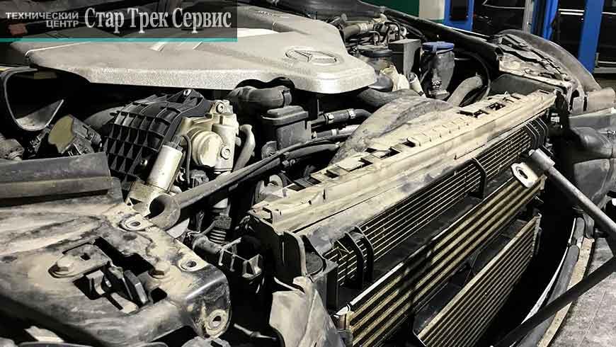 радиаторы Мерседес AMG C63 Стар Трек Сервис